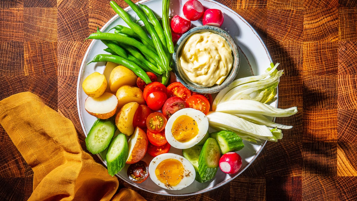 Le Grand Aioli is dip for dinner, the French way 1