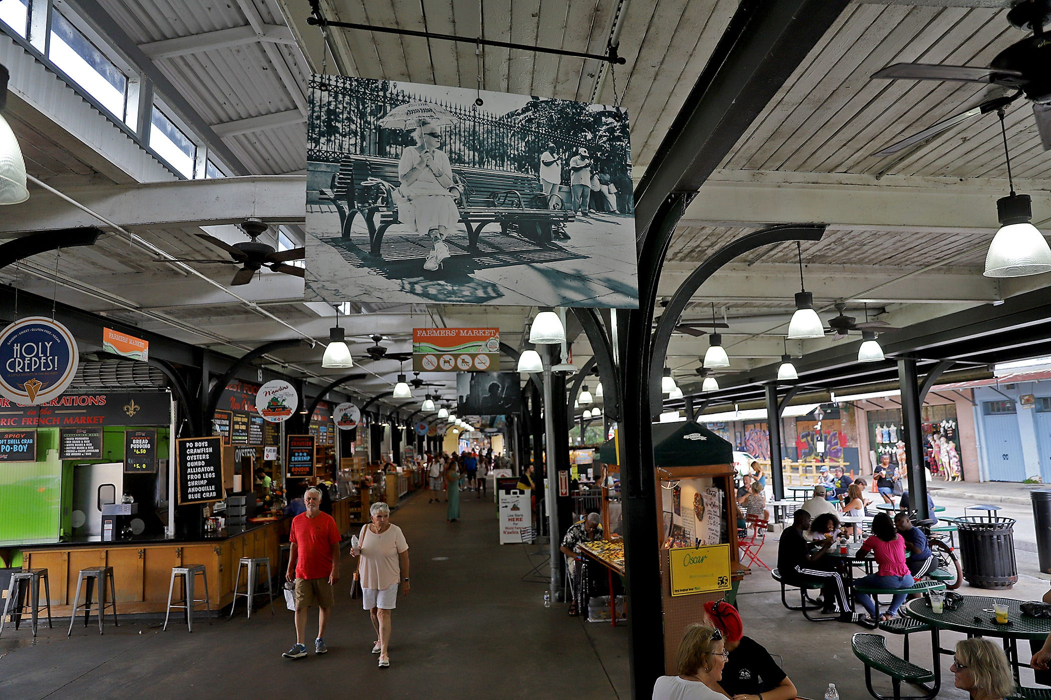 The French Market in New Orleans on Thursday, July 1, 2021.