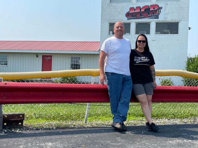 Marion County Raceway owners Kevin Jewer and Katie Lotsberg took over the raceway in 2019.