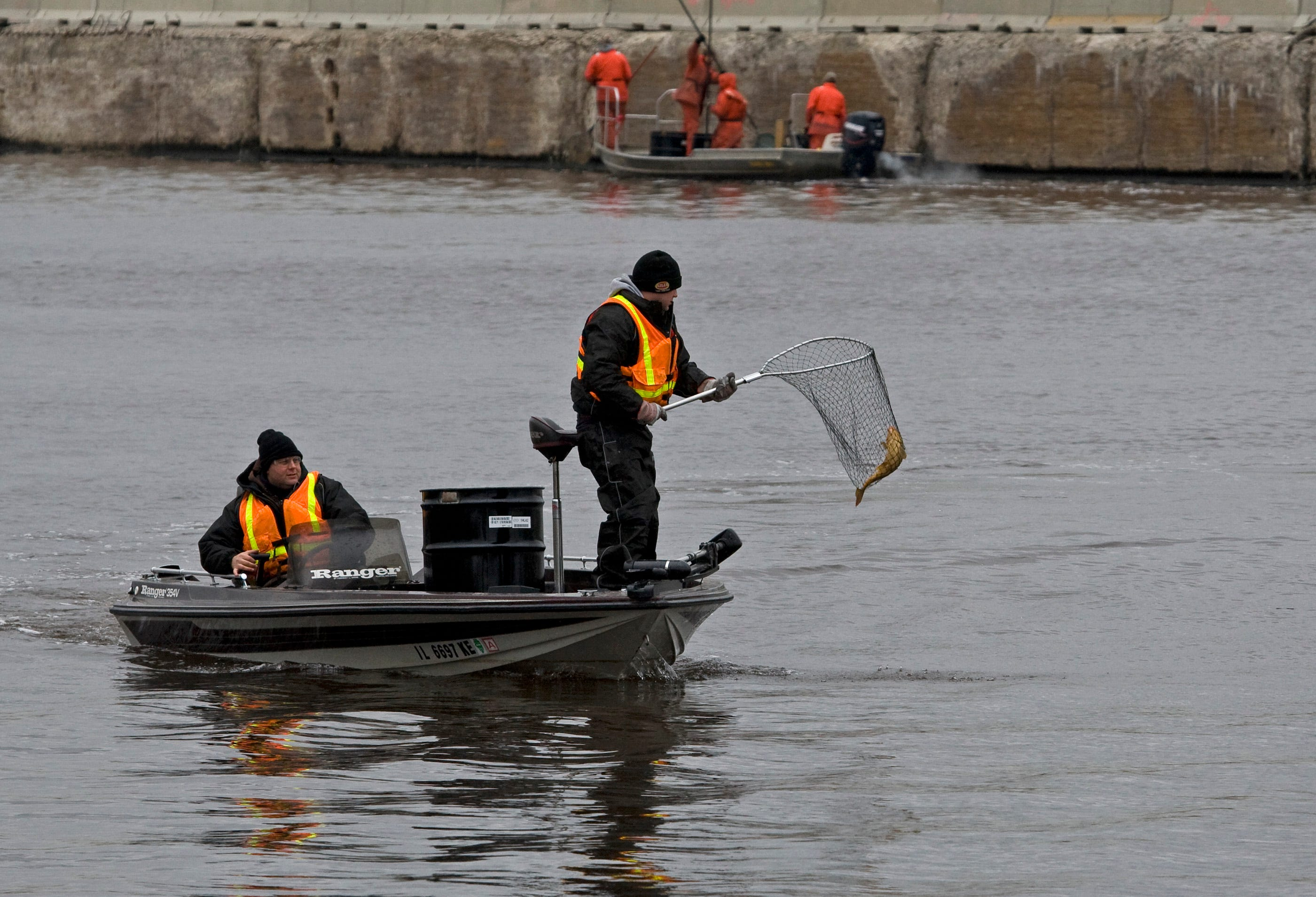 The Asian Carp Rapid Response team begin its work this week on the Chicago Sanitary and Ship Canal (CSSC) to control the movement of Asian carp.