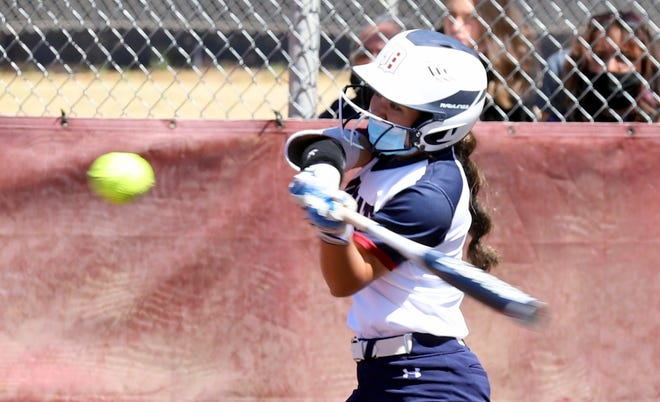 Junior left-fielder Bianca Valverde has been a steady defender and a productive lead-off hitter in the Lady 'Cats game plan. She was among the team leaders in on-base percentage, runs scored, and hits.