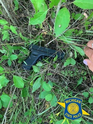 State troopers say this BB gun was part of a July 5, 2021, road rage incident in Plymouth Township.