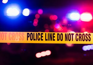 A 25-year-old man was in critical condition after being shot and wounded by Glendale police Tuesday night.