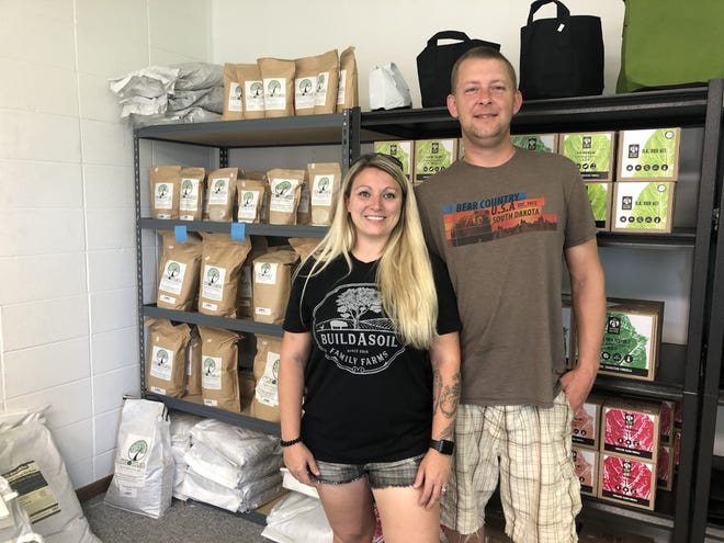 Katie and Tom Van Kley opened Grow Organic in eastern Sioux Fall in mid-May.