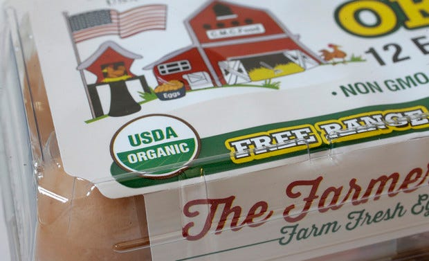 The USDA Organic label generally signifies a product is made without synthetic pesticides and fertilizers, and that animals are raised according to certain standards. But disputes over the rules and reports of fraud may have some questioning whether the seal is worth the price.