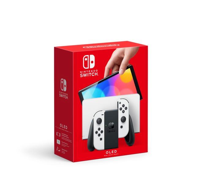 La Nintendo Switch (modèle OLED).