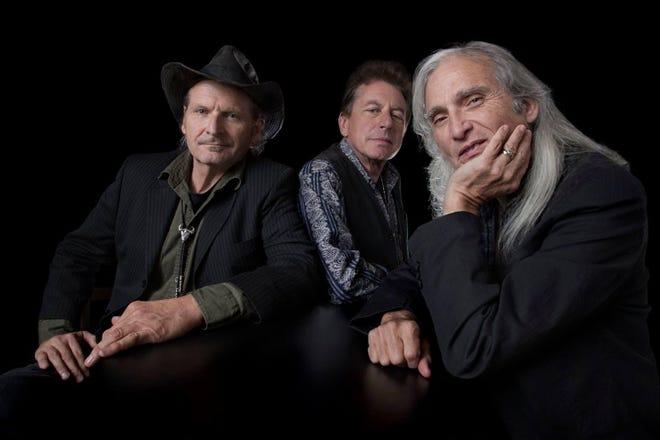 The Flatlanders (L-R): Butch Hancock, Joe Ely, Jimmie Dale Gilmore.