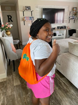 The Andy Roddick Foundation is offering a Whatchamafeelit Kit with a drawstring backpack and activities inside for kids at home.