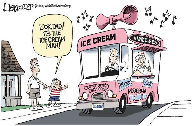 The ice cream man