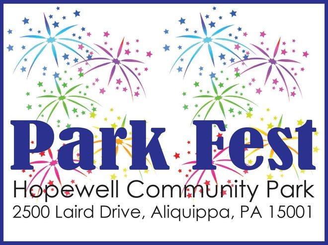 The Hopewell Park Fest will be held from 3-9:30 p.m. July 10 at Hopewell Community Park.