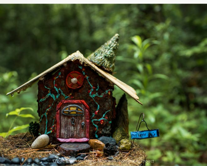 Residents are invited to stroll the Fairy Trail at Bullington Gardens in August to explore the fun and fantasy of the Fairy Village.