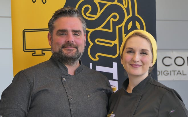 John Michael, director of culinary and hospitality, and Lexi Michael, executive chef, will lead the new culinary program at WSU Tech this fall.