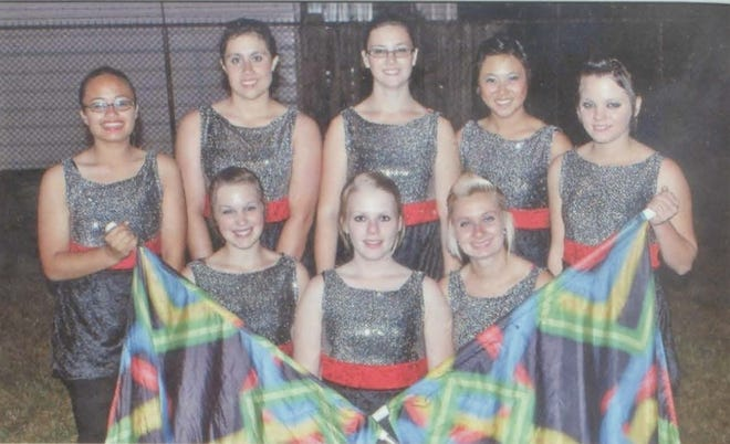 Pictures of the Past is from the 2011 Lincoln Community High School yearbook. It shows members of the Lincoln Railer Colorguard. In front from left are: Destiny Shreve, Kaycee Ritchert and Tiffany Wilham. Second row from left: Tammy Hunyh, Lauren Stanfield, Libby Evans, Shanna Sheen and Keri Anderson.