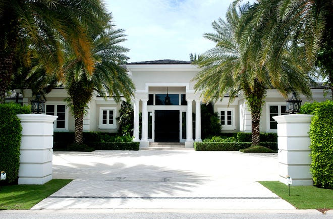 A six-bedroom house at 583 N. Lake Way has sold for a recorded $14.5 million to a buyer who just sold his house nearby on the North End of Palm Beach.