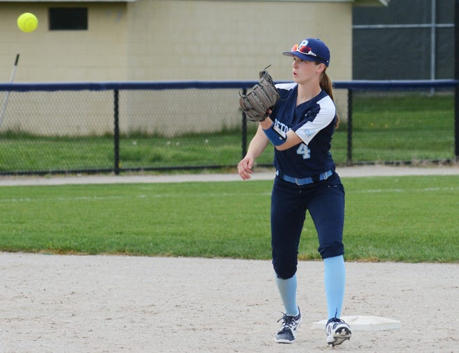 Petoskey's Kenzie Bromley hit nearly .500 in her first varsity season and earned first team All-BNC honors.