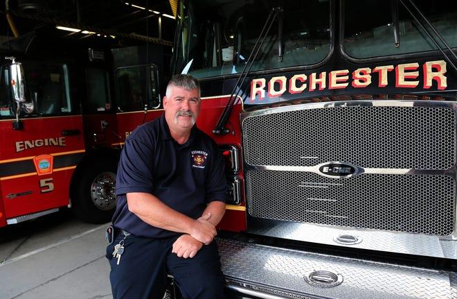 Rochester Fire Chief Mark Klose will be retiring in September 2021.