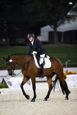 Beatrice de Lavalette clinched her place on the Paralympic dressage team at the Perrigo Tryon Summer Dressage CPEDI3 competition in Mill Spring, North Carolina in June.