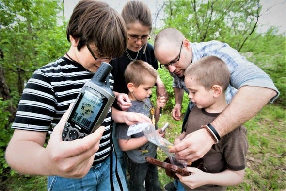 Grab the sunscreen and discover nature this month with Missouri Department of Conservation Cape Girardeau Conservation Nature Center's free event lineup highlighting endangered plant species, stream fishing opportunities, armadillos, and geocaching seen above.