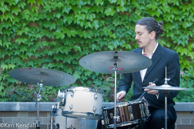Drummer Gustavo Cortinas and his sextet will perform Aug. 19, 2021, at the University of Notre Dame's Snite Museum of Art in a partnership with Merrimans' Playhouse jazz club.
