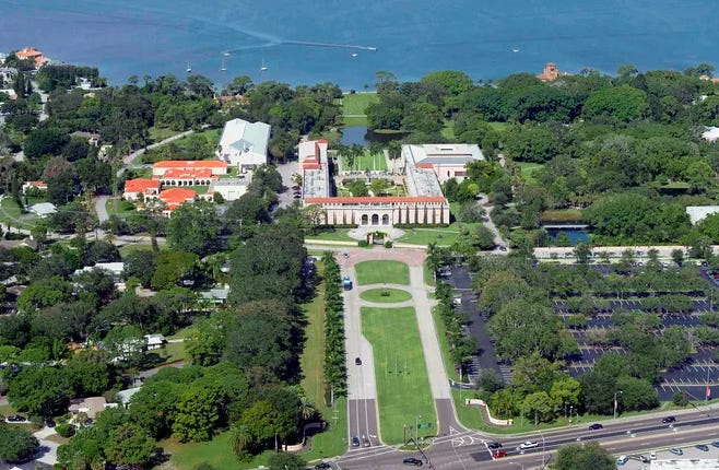 The John and Mable Ringling Museum of Art is having a busier-than-usual summer because of the current tourism boom in the area.