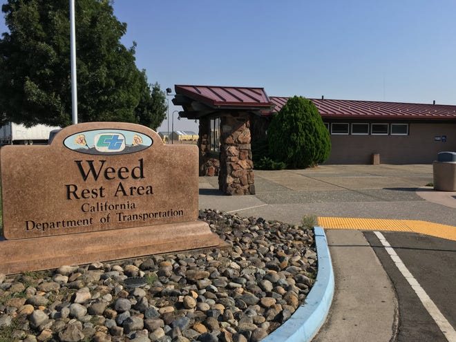 The northbound Weed Rest Area is closed for construction.