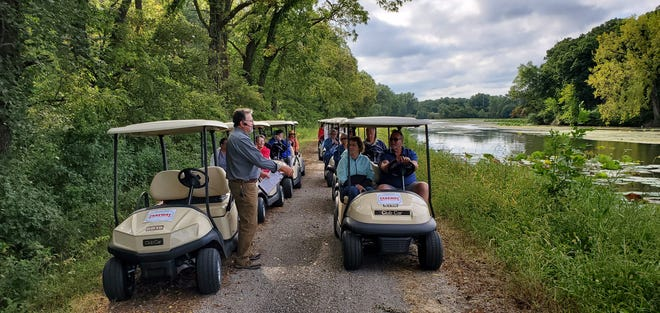 Last year's golf cart tours of Hennepin Canal were so popular that organizers have added another tour date in 2021.