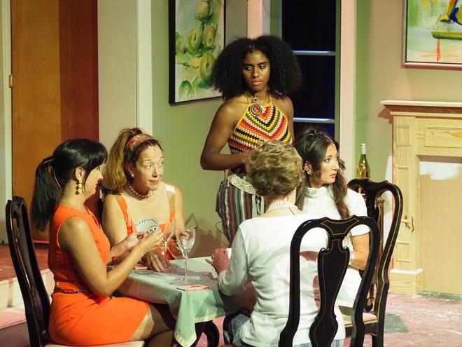 """""""The Thursday Night Bridge Circle,"""" an original Southern comedy by Ray Kennedy,  runs July 8-11 and 15-18 at North Front Theatre."""