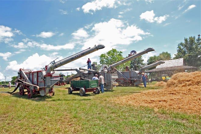 The annual Meriden Threshing Show will take place July 16-18.