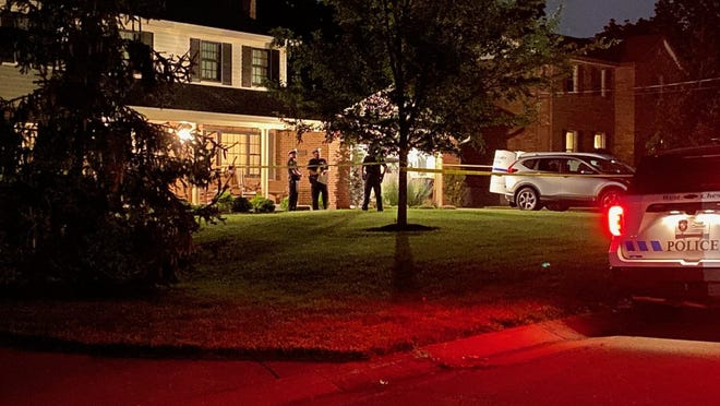 Police investigate the deaths of two people found in their home on Revere Run in West Chester Township.
