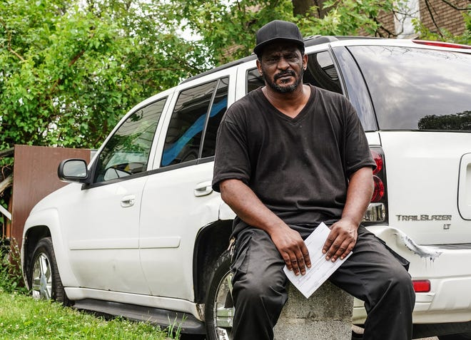 Patrick Palmer, 53, of Detroit signed up with a new Michigan auto insurer and saw his monthly bill plummet.
