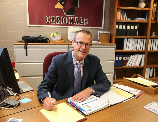 New Fond du Lac School Superintendent Jeff Fleig took over as leader of the district July 1. His first order of business was calling a special school board meeting at which members voted to make mask wearing optional.
