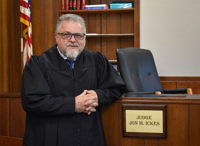 Common Pleas Judge Jon Ickes has been on the bench one year this month. Growing up, he always knew he would become a lawyer, and becoming judge was a natural maturation of his career.