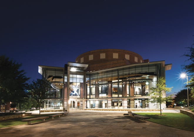 The Peace Center in downtown Greenville.
