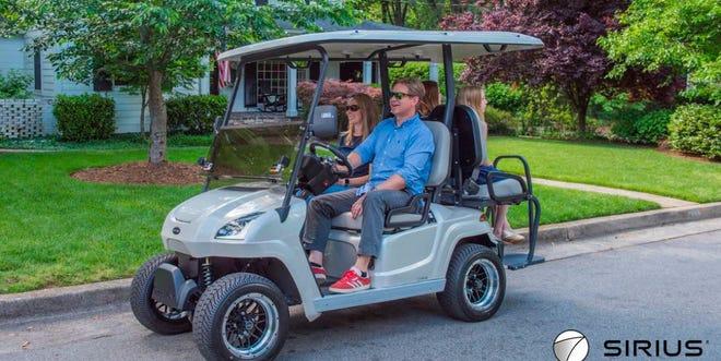 STAR EV's Sirius brand golf cart