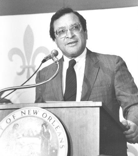 "New Orleans' first Black mayor, Ernest ""Dutch"" Morial."