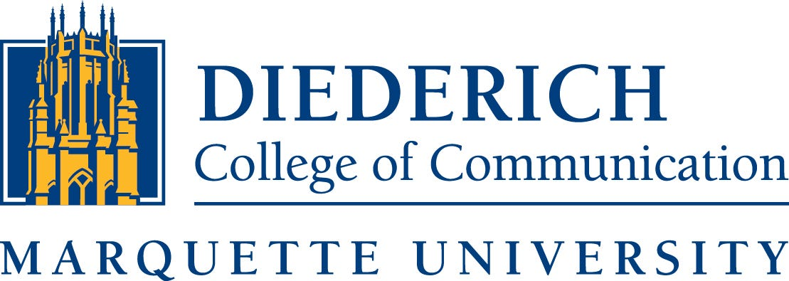 logo of Diederich College of Communication at Marquette University