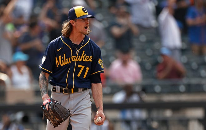 All-star closer Josh Hader became the third member of the Brewers bullpen to test positive for COVID-19 and will be out of action for at least 10 days.