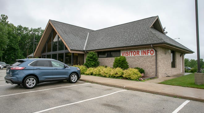 An exterior photo of the Manitowoc Area Visitor & Convention Bureau building as seen, Wednesday, July 7, 2021, in Manitowoc, Wis.
