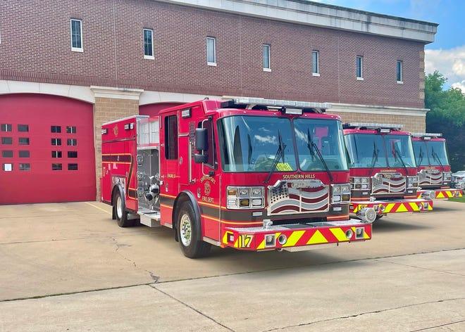 Three new fire engines