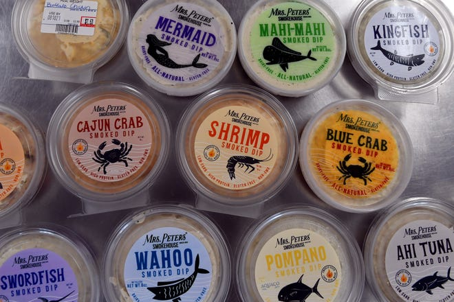 Since 1931, Mrs. Peters Smokehouse has been making a variety of fish dips, a Florida staple, including tuna, crab, wahoo and kingfish. All of the fish is smoked on open racks using local hardwood.