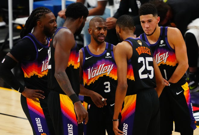 The Suns held home court to take Game 1 of the NBA Finals.