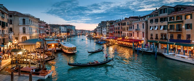 Taking a gondola is a very special experience with kids, who tend to be spellbound by the sights and sounds – especially if you go at night.