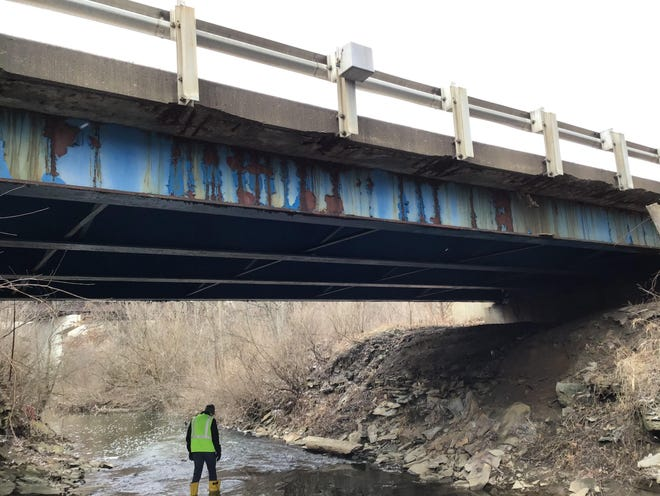 The Highland Road Bridge, which runs over Brandywine creek, will be replaced. The road in that area is expected to be closed through the end of November.