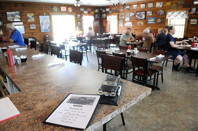 Cruisers restaurant has moved from Medina County to a new location at 360 County Road 620 near the entrance to Cinnamon Lake. The car-themed diner's Lodi site was destroyed by fire in 2019. Two years later, it's reopened with many of the same staff.