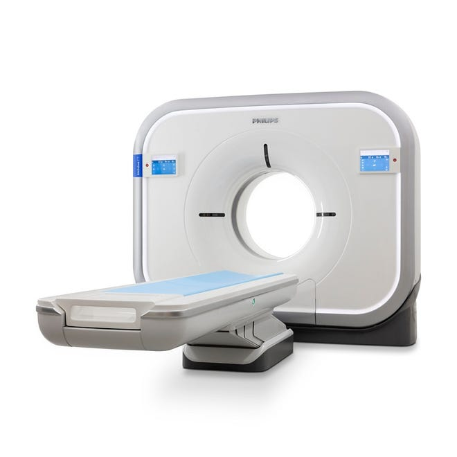 A new Philips Incisive 128- Slice CT scanner system will be installed at Soldiers & Sailors Memorial Hospital.