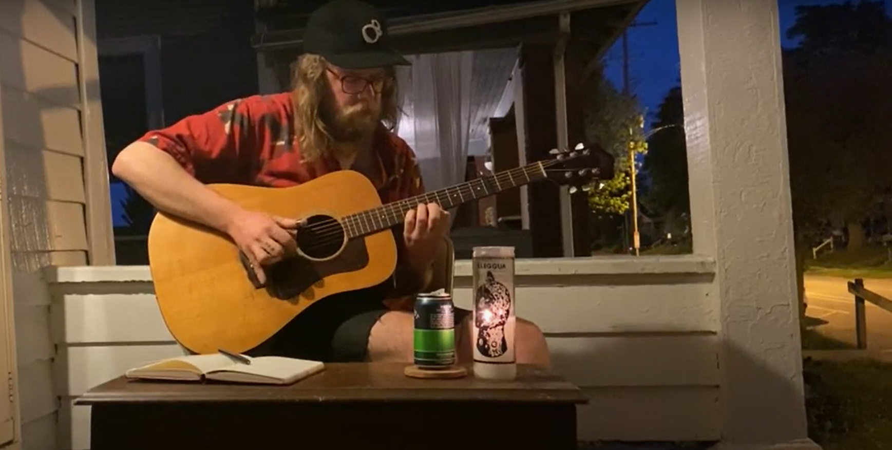 Daily Distraction: Enjoy a late-night porch hang with Matthew J. Rolin on  4th Street