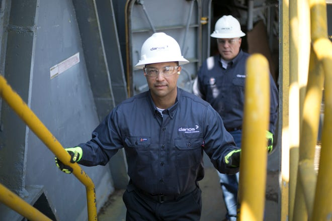 Danos crews will provide maintenance and repairs necessary at two facilities in the Gulf of Mexico under the new contract, the company said