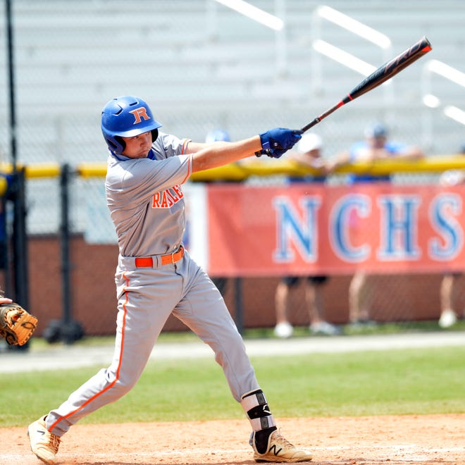 Randleman's Hunter Atkins was named player of the year in the PAC-7. [Mike Duprez/Courier-Tribune]