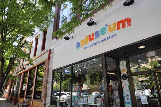 aMuse'um Children's Museum was one of 15 downtown Columbia businesses and properties awarded grant funding for exterior façade improvements.