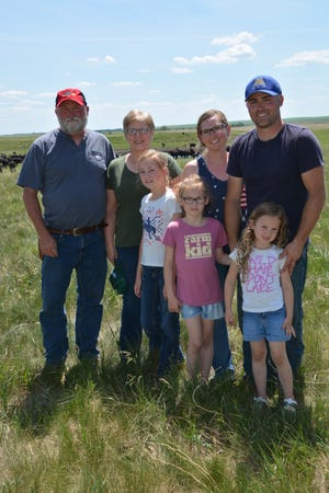 Pictured here is the Bartel family, including: Neal and Linda with their son Josh, daughter-in-law Natalie, and grandchildren: Taryn, 10, Kenzie, 7, and Emmie, 4.